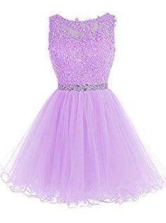 Tideclothes Short Beaded Prom Dress Tulle Applique Homecoming Dress Royal Blue US2