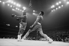 Muhammad Ali – Float like a butterfly, sting like a bee. His hands can't hit what his eyes can't see.