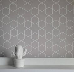 Pattern Name: Seamless Moroccan - Grey Pattern Repeat: 91mm wide x 158mm high  Bespoke self adhesive, removable and reposition-able fabric wallpaper. Get the look and feel of a traditional wallpaper without the fuss! No water, paste, or tradesman required.  We recommend that you measure the height and width of your wall to check how much wallpaper is needed, before placing an order. Please dont hesitate to contact us if you are unsure, we are happy to help. It is best to add an extra 2…
