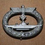 WW2 GERMAN KRIEGSMARINE U -BOAT AWARD | Militaria | WARSTUFF