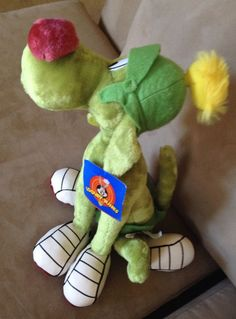 "NWT New 17"" tall Ace Novelty Looney Tunes Marvin the Martian's Dog K-9 Plush Toy"