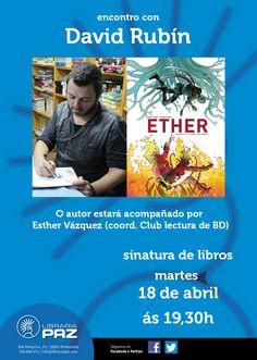 Encontro con David Rubín, en Pontevedra. Ocio en Galicia   Ocio en Pontevedra. Agenda actividades: cine, conciertos, espectaculos