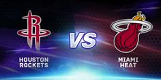 Houston faces off against Miami tonight! Which team do you think will take the game? #NBA #Basketball