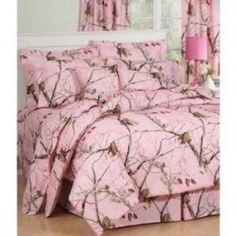 Pink Camo Bedroom