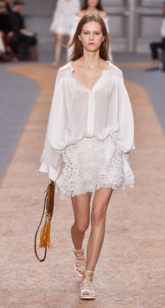 Look 35 from the Chloé Spring-Summer 2016 collection