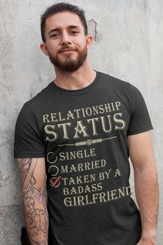 Are you looking for shirt gifts for boyfriend or love boyfriend gifts shirts? You are in right place. Your will get the best cool boyfriend gifts or boyfriend outfit in here. We have awesome boyfriend shirts hilarious with 100% satisfaction guarantee. Crazy Girlfriend, Amazing Girlfriend, Love Boyfriend, Boyfriend Shirt, Christmas Gifts For Boyfriend, Gifts For Your Boyfriend, Girlfriends, Hilarious, Funny