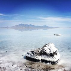 Bonneville Salt Flats in Utah