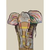 Found it at AllModern - 'Trendy Trunk on Cream' by Eli Halpin Painting Print on Canvas