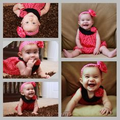 Baby photos   7 months   baby photography   7 month photos   baby photography ideas   infant photography poses