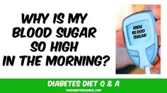 Why is My Blood Sugar So High In The Morning - WATCH VIDEO HERE -> http://bestdiabetes.solutions/why-is-my-blood-sugar-so-high-in-the-morning/      Why diabetes has NOTHING to do with blood sugar  *** sugar sleep diabetes ***  Get my prediabetes and diabe