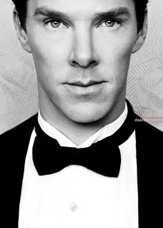 """Benedict Cumberbatch..well, hello there ;)"" — Oh, good Lord. *sweats under collar*"