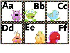 Word wall letters for your monster-themed classroom. These letters are 6 to a… Classroom Wall Decor, Classroom Tools, 2nd Grade Classroom, Classroom Organisation, Primary Classroom, Classroom Themes, Classroom Activities, Future Classroom, Word Wall Letters