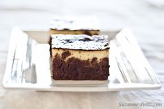 Chocolate Cheesecake Brownies - gluten-free & low FODMAP. Recipe at www.strandsofmylife.com