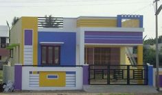 Top Ideas For House Front Design Simple