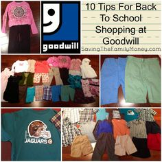 How far can you spread $100 on back to school shopping? What if you shopped at Goodwill?