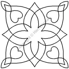 Continuous Line Quilting Stencils | fe528231029cd45f166b0e0ed0bead94.jpg