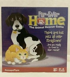 NEW Fur-Ever Home The Animal Rescue Board Game