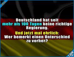 Irgendwie geht's auch so weiter. #Deutschland #Fakt #Fakten #lustigeFakten #Sprüche