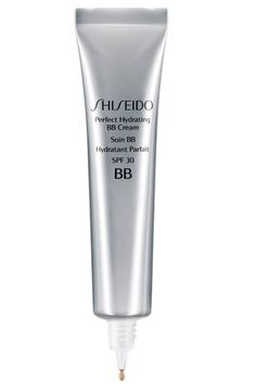 Shiseido has unveiled a new Perfect Hydrating BB Cream to protect and improve the appearance of skin, by minimising pores, reducing redness, and improving radiance. Cc Cream, Sheer Foundation, Buy Cosmetics Online, Perfume, Skin Food, Shiseido, Marie Claire, Good Skin, Beauty Care