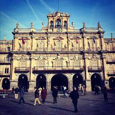 Plaza Mayor de Salamanca #Salamanca #Spain