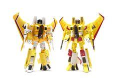 Transformers Masterpiece MP-11S Sunstorm and Masterpiece Sunstorm (MP-05)
