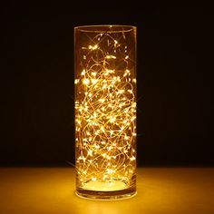Copper Wire Light, 2 Set of Micro 30 LEDs Super Bright Starry string Light Battery Operated on 9.8 Ft Long Rope Light For Seasonal Decorative Christmas Holiday, Wedding, Party With Battery Box >>> Check this awesome image  : Christmas Decorations