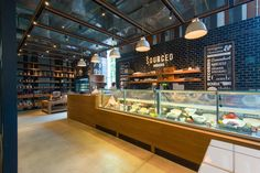 Sourced Grocers store by Whitespace Bangkok  Thailand