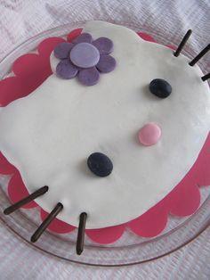 Gateau anniversaire Hello Kitty  recette