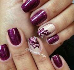 Pretty violet . Nails
