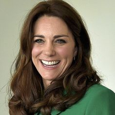Catherine, Duchess of Cambridge, smiles during her visit to St. Thomas' Hospital with Prince William, Duke of Cambridge, on March 10, 2016 in London, England.