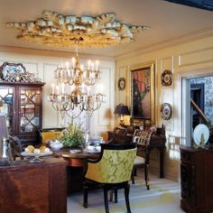 Miniature diorama - dining room