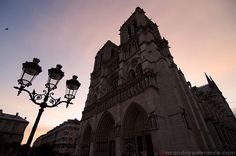 Paris, sunrise to sunset