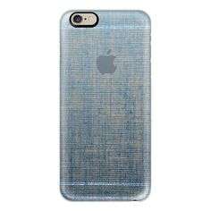 iPhone 6 Plus/6/5/5s/5c Case - Vintage Denim Blue (€35) ❤ liked on Polyvore featuring accessories, tech accessories, iphone case, vintage iphone case, iphone cover case, blue iphone case and apple iphone cases