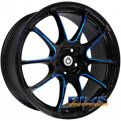 Konig Illusion Black w/ Blue Cap Wheel Rim Package Combo. We are online retailer for car enthusiasts. Our goal is to provide better custom wheels and tires, at affordable prices, and superior customer service. If you are shopping online for rims and tires you clicked to right place.