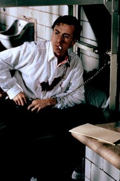 """hippiedaydreamer: """" Is it weird that I discovered and fell in love with Tim Roth at 13 after seeing him play mass murderer Charles Starkweather in tv movie Murder in the Heartland? Tim Roth Movies, Boys Keep Swinging, Junkyard Dog, Rat Man, Creepy Guy, I Quit Smoking, Andy Garcia, Christoph Waltz, Reservoir Dogs"""