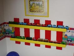 Train tracks plus storage