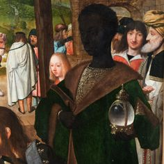 Národní galerie v Praze – Šternberský palác — Geertgen Tot Sint Jans: Tryptych with Adoration of the Magi (detail) Black History Facts, Art History, European History, Ancient Egyptian Art, Ancient Aliens, Ancient Greece, Renaissance Artworks, Black And White People, Classic Paintings
