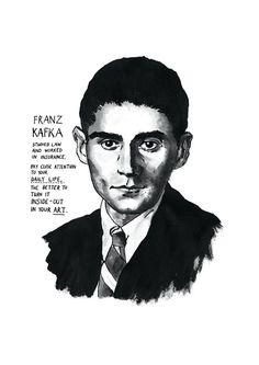 Franz Kafka fue un escritor de origen judío nacido en Bohemia que escribió en alemán. Su obra está considerada como una de las más influyentes de la literatura universal..