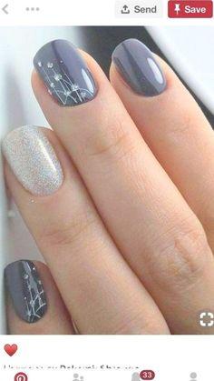 Nail Art Ideas 53 Outstanding Bridal Nails Art Designs Ideas 2018 2019 A Wedding Cute Nail Art Designs, Blue Nail Designs, Nail Designs Spring, Toenail Designs Fall, Fingernail Designs, Blue Design, Shape Design, Design Design, Simple Designs