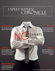 Expert Witness Chronicle - Vol. 2, Issue 2
