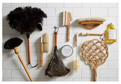 Beautiful #layout of old #cleaning products/tools