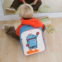 Alexander the Robot Little Kid Backpack: Official Beatrix New York Site