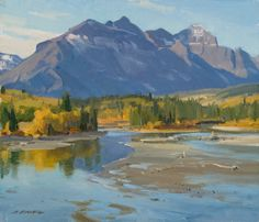 "Clyde Aspevig ""Inlet - Lower St. Mary's Lake"""