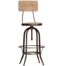 (https://www.zinhome.com/industrial-gear-bar-stool/)