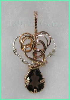 Wire Wrapped Pendants | To see Gold Wire Wrapped pendants that have been sold, please visit ...