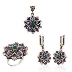 Ottaman Silver Authentic Set www.hanedansilver.com #Roxelana #East #Market #Hurrem #Jewellers #Silver #Earring #Jewelers #Ottoman #GrandBazaar #Earring #Silver #Pendant #Silver #Bracelet #Anadolu #Schmuck #Silver #Bead #Bracelet #East #Authentic #Jewelry #Necklace #Jewellery #Silver #Ring #Silver #Necklace #Pendant #Antique #istanbul #Turkiye #Reliable #Outlet #Wholesale #Jewelry #Factory