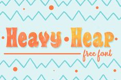 Heavy Heap is a flaming, 1960's style custom headliner featuring lowered suspension, a chopped roof line, plenty of chrome and a full flame job. This font includes a license that allows free commercial use: sometimes referred to as a desktop license. This allows you to install the font on a computer and use it to create posters, web graphics, game graphics, t-shirts, videos, signs, logos and more. Read the license agreement for details. You can thank or donate toTypodermic Fonts for this...