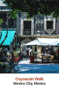 """Coyoacán in Mexico City charms with its narrow colonial-era streets, graceful plazas and shops. The name translates as """"place of coyotes"""" and its genteel vibe has attracted such current residents as the Colombian novelist Gabriel Garcia Marquez."""