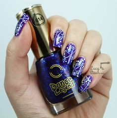 Stamping Nail Art feat. Dance Legend and MoYou London PRO Collection 14 XL.