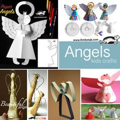 children activities, more than 2000 coloring pages Christmas Angel Crafts, Christmas Bible, Christmas Paper, Diy Christmas Ornaments, Holiday Crafts, Christmas Decor, Christmas Ideas, Winter Crafts For Kids, Crafts For Boys